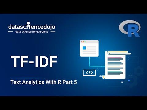Intro to Text Analytics with R: TF-IDF