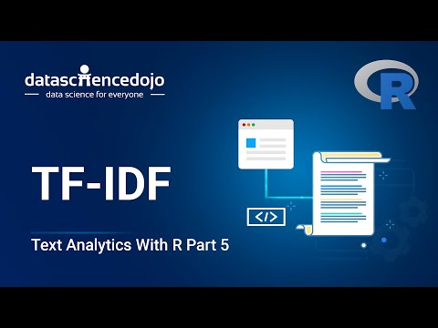 TF-IDF | Introduction To Text Analytics With R Part 5
