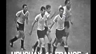 URUGUAY 2 - 1 FRANCIA - Mundial de Inglaterra 1966