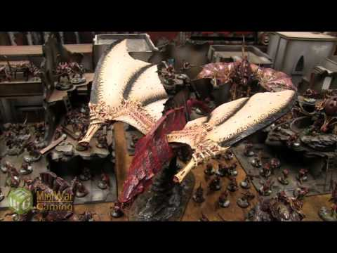 Full Nurgle Tyranid Army plus a Harridan (by Wing Smooth Painting)