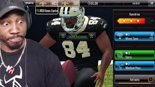 MADDEN MOBILE 19 OVERDRIVE GAMEPLAY VS NOOBKILL213! Overview & Early Info Madden Mobile 19 Ep. 1