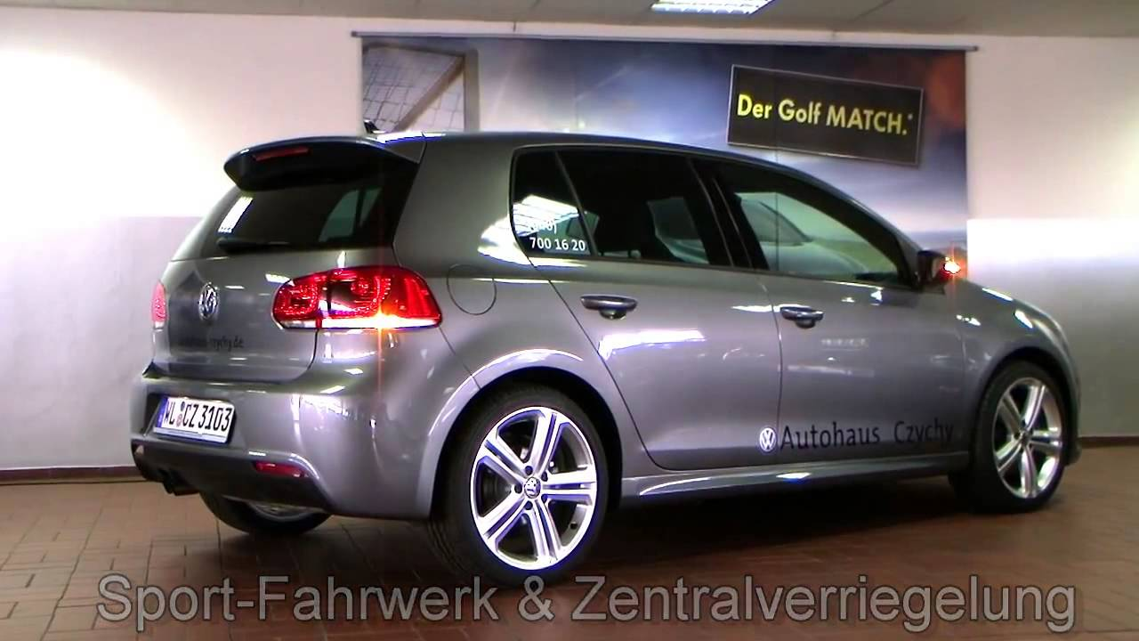 volkswagen golf vi 1 4 tsi dsg highline r line mallory united grey cw116621 youtube. Black Bedroom Furniture Sets. Home Design Ideas