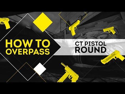 HOW TO OVERPASS: CT PISTOL ROUND [RU/EN]