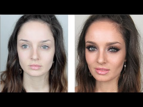 Clubbing Makeup Tutorial: Sexy Eyes & Glowing Skin