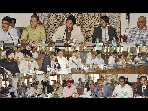 Tassaduq Mufti Reviews Health Care Facilities In J&K