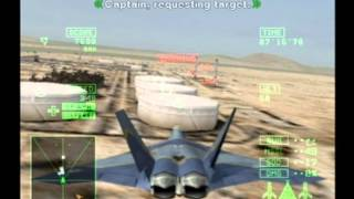 Ace Combat 5: The Unsung War | Mission 16B - Desert Lightning | FB-22