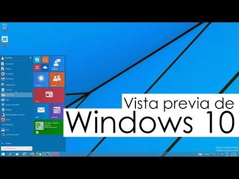 Reseña: Vista previa de Windows 10