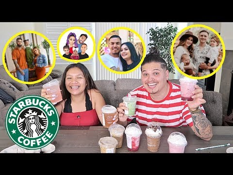 Letting YOUTUBERS pick our STARBUCKS drinks!!