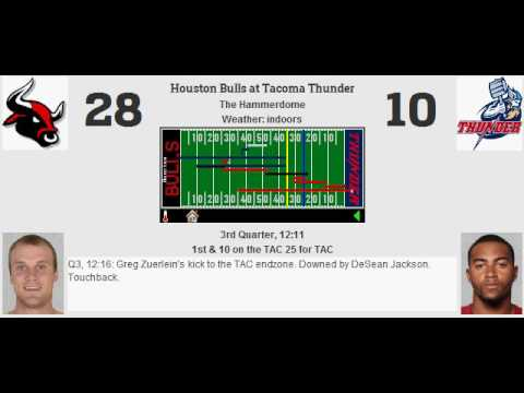 Div Playoffs: Houston Bulls (11-5) @ Tacoma Thunder (11-5)
