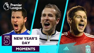 Top 5 New Year's Day Moments | Man City, Spurs, Chelsea