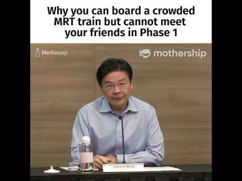 Covid-19 in Singapore: Why you can board a crowded MRT train but cannot meet your friends in Phase 1