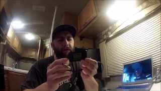 Harbor Freight Amp Tester for checking how much power things in your RV draw