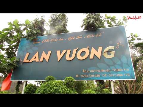 Khu du lich Lan Vương, TP Bến Tre