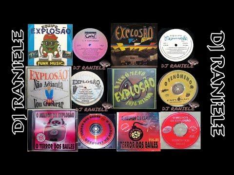 ARQUIVOS EQUIPE EXPLOSÃO (FITA K7) A EXPLOSÃO DO FUNK NA RÁDIO DJ RANIELE