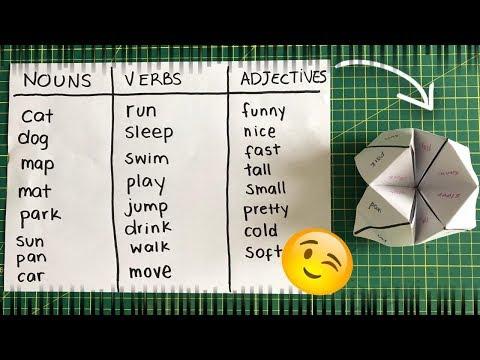 Aprendiendo Inglés con Juegos DIY