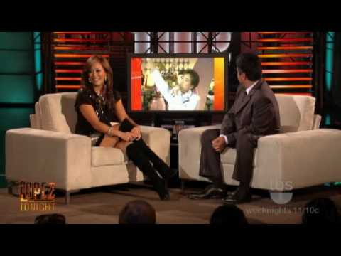 Lopez Tonight Carrie Ann Inaba 1/13/2010 - YouTube