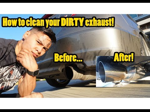 THANK YOU for 1,500 SUBS + Cleaning Exhaust Tips!
