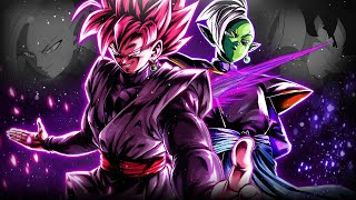 ZERO MORTALS PLAN ENFORCED!!! **EXTREME** ZAMASU AND ROSE IN ACTION! | Dragon Ball Legends
