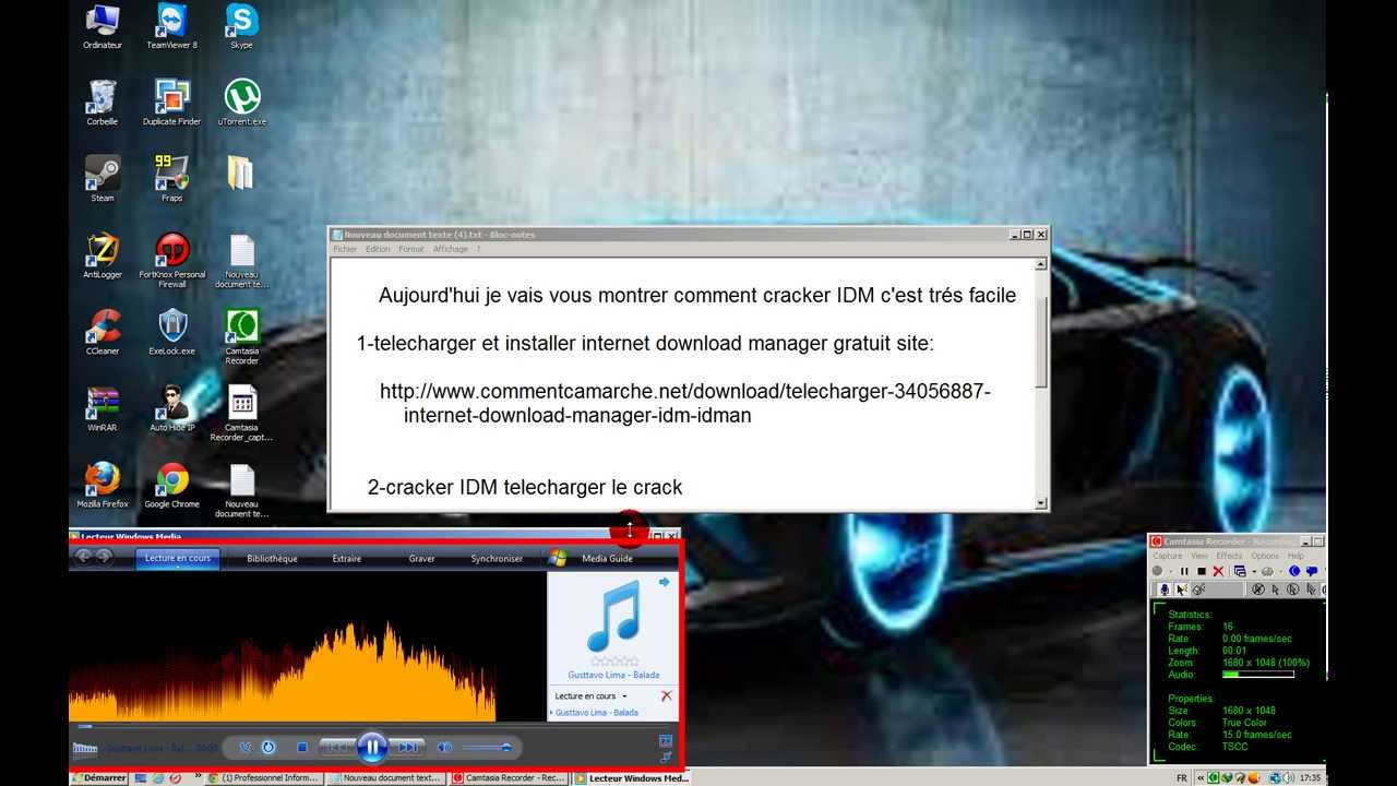 DOWNLOAD TÉLÉCHARGER 6.07GRATUIT IDM INTERNET MANAGER