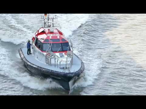 GERMAN WATERWAYS Part 5 (Weser Pilot Station to Bremerhaven)HD1080)