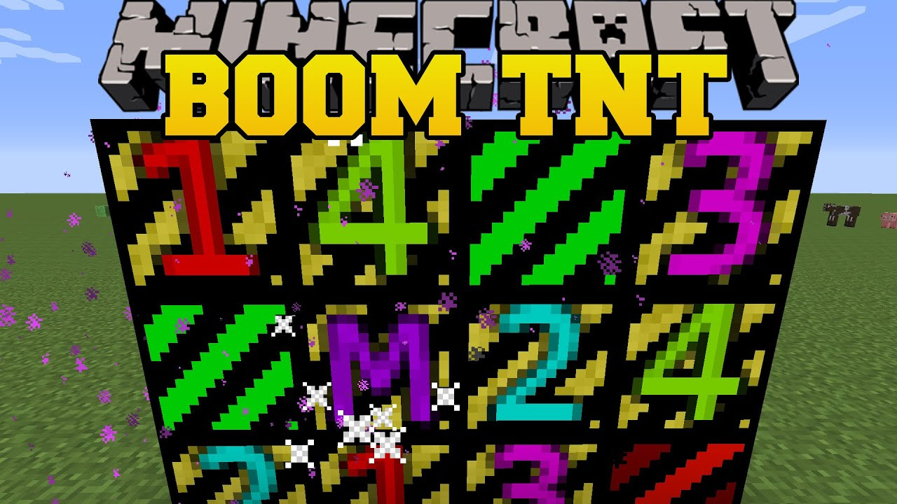 Minecraft Boom Tnt Explosions Trolling Ore Amp More