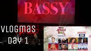 Vlogmas Day 1    Khalid Normani & Marc E bassy at Jingle Ball Video