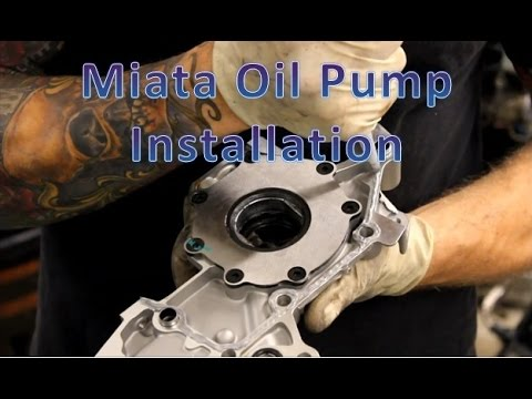 Miata oil pump installation gqm garage youtube publicscrutiny Gallery
