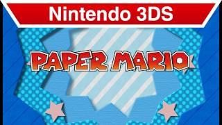 Nintendo 3DS - Paper Mario E3 Trailer