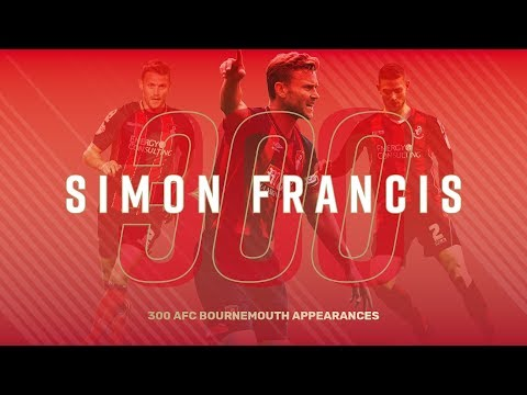 300 AND COUNTING! | Simon Francis reaches AFC Bournemouth landmark