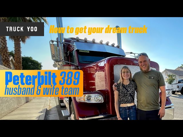 Peterbilt 389: A couples journey from driver to OTR Owner Operator Team