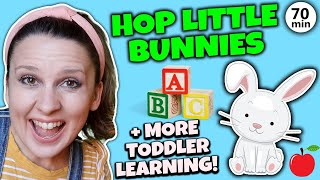 Toddler Learning Video | Baby Videos | Hop Little Bunnies + Kids Songs & Speech for Babies, Toddlers