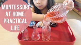 Montessori At Home Practical Life Activities For Babies And Toddlers 0 3 Years