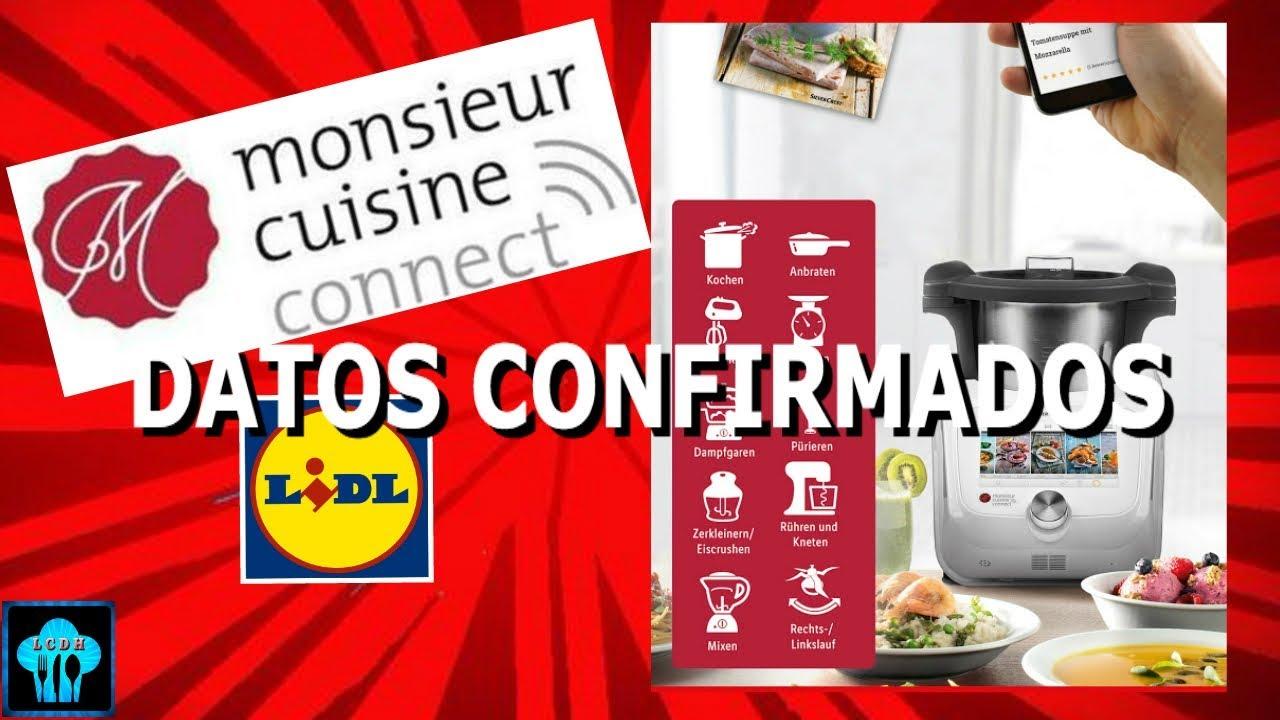 Silvercrest Monsieur Cuisine Connect Lidl Datos Confirmados
