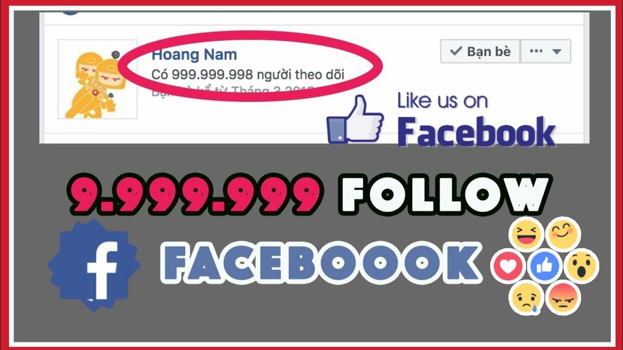 Hack follow facebook 2020|Tăng Theo dõi facebook|Hack like fanpage Hướng dẫn trên Điện Thoại