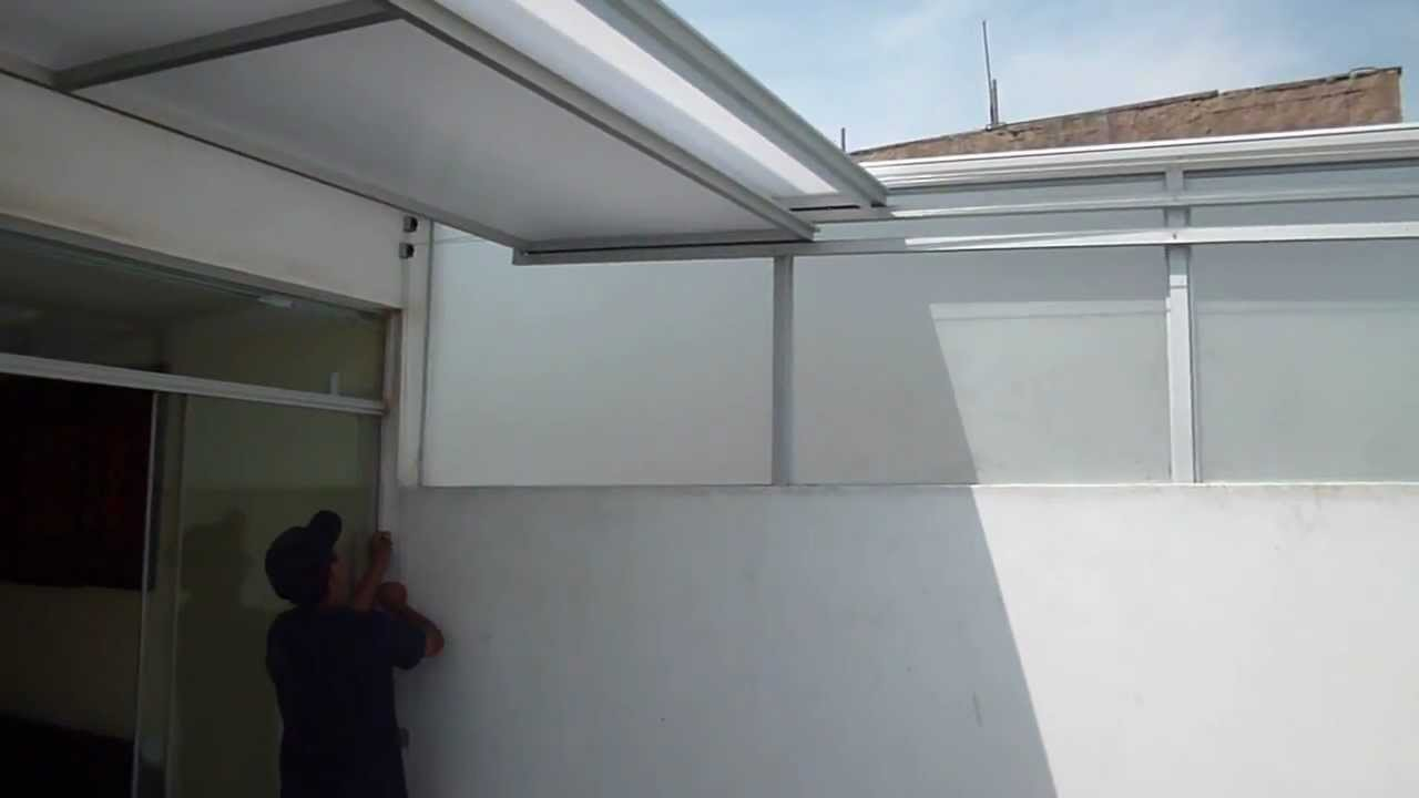 Video de techo corredizo youtube - Luces de terraza ...
