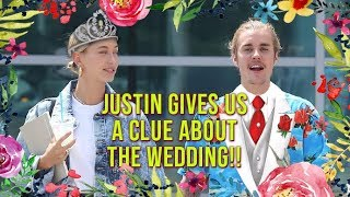 exclusive justin bieber reveals when his wedding will take place