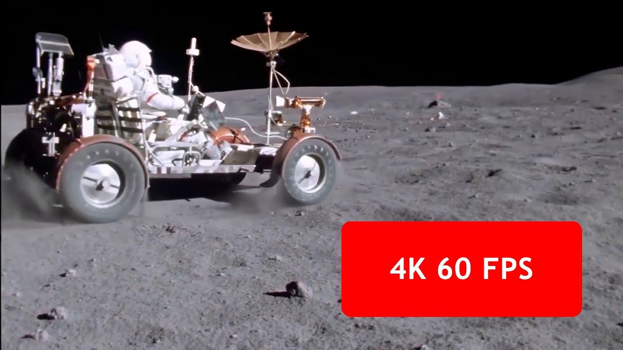 [4k, 60 fps] Apollo 16 Lunar Rover \