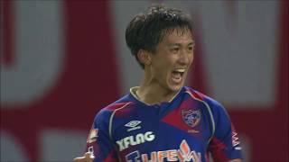 カウンターから前線に駆け上がった田邉 草民(FC東京)が相手GKをかわす...
