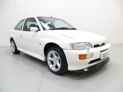 A Ford Escort RS Cosworth with Just 59,998 Miles from New, in Pristine Condition. SOLD!