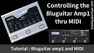 Controlling the Bluguitar amp1 thru MIDI