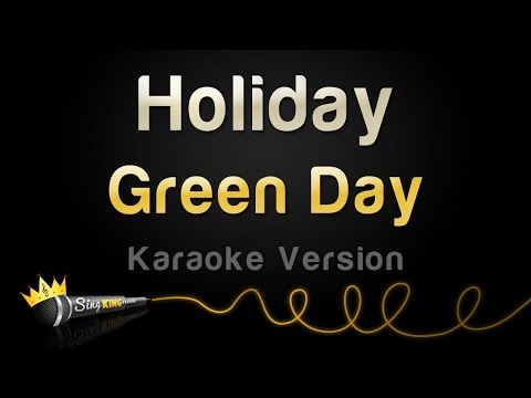 Green Day - Holiday (Karaoke Version)