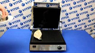 Рецепт приготовления стейка зубатки на гриле в гриль-прессе VITEK VT-2630 ST