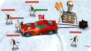 СКЕЛЕТЫ ЛУЧНИКИ МЕНЯ ДОСТАЛИ - Zombie Drift. Зомби против ТАЧКИ. Дрифт игра. Андроид игры