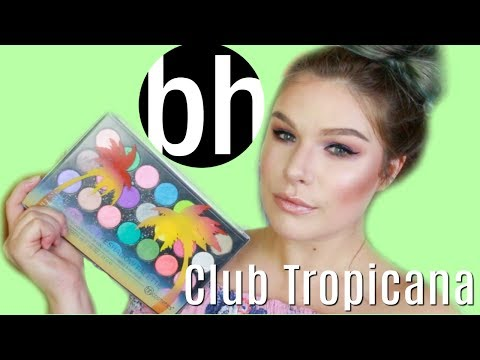 REVIEW & SWATCHES: BH Cosmetics Club Tropicana