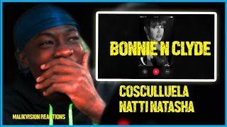 Malikvision Reacts To New Latin Heat! Cosculluela & Natti Natasha - Bonnie & Clyde  Reaccion