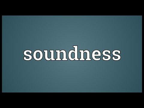 Header of soundness