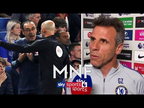 """""""Sarri shouldn't have been sent off"""" 