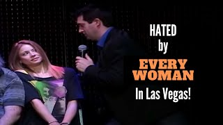 Hypnotist Marc Savard is hated by every woman in Las Vegas!