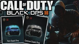 "BLACK OPS 3 ""RARE SUPPLY DROPS"" & ""COMMON SUPPLY DROPS""! - Black Ops 3 Supply Drops!"