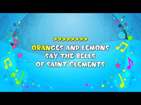 Oranges And Lemons Sing-A-Long